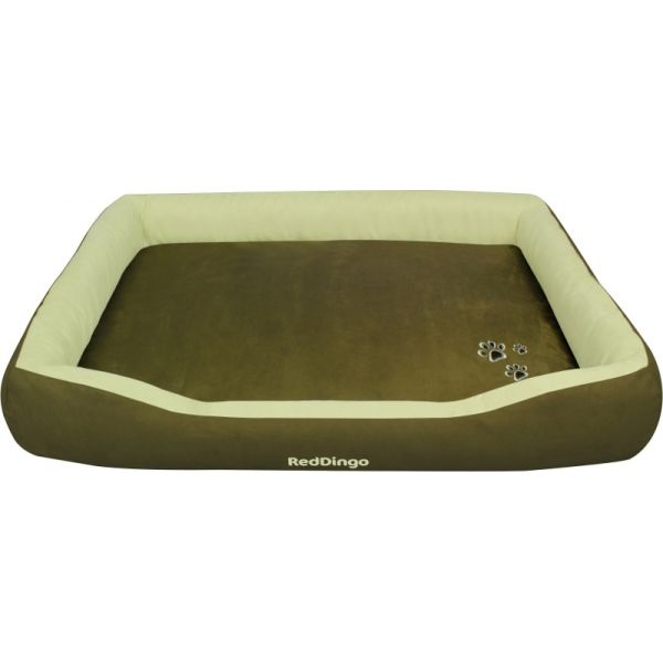 pelíšek red dingo zelený 130x97cm